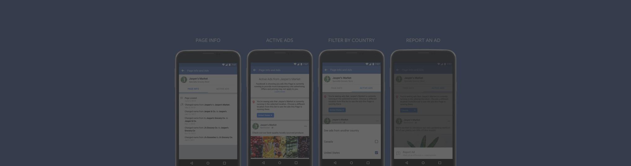 Nová úroveň transparentnosti pre reklamy a stránky